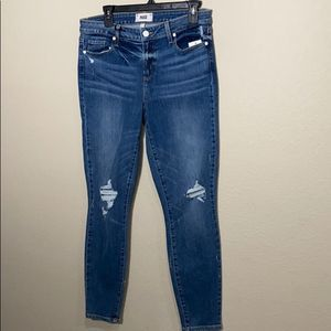 Paige Verdugo Ankle Embarcadero Jeans